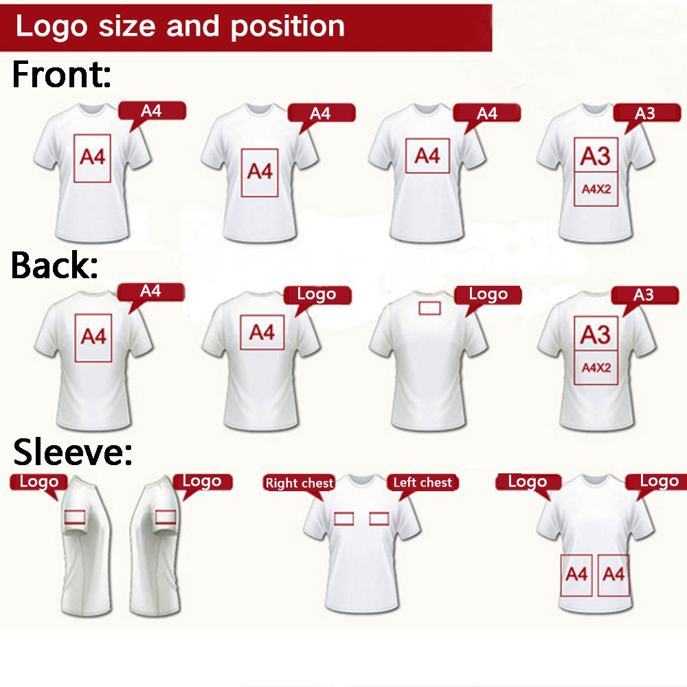 Wholesale gilban custom designed white t shirts for mens for T shirt print dimensions