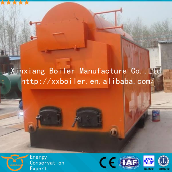 Best DZH 2T/H small steam boiler