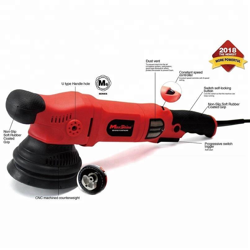 Maxshine 1000Watt Dual Action Car Polisher 15mm Throw