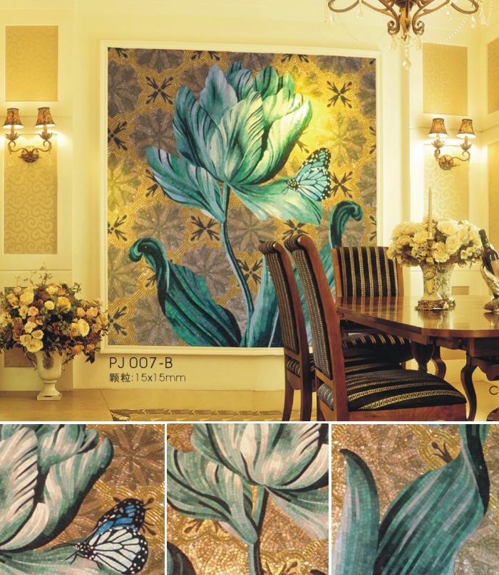 Mosaico De Vidrio De Arte De La Pared Murales Libre Mosaico De ...
