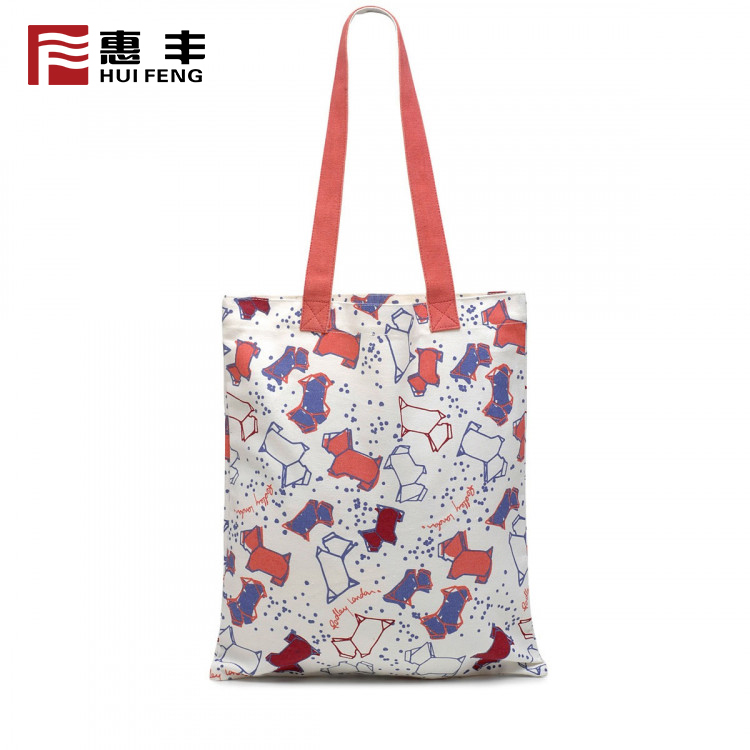 Standard Size Canvas Tote Cotton Bag  Printed , Wholesale Canvas Tote Shopping Bag