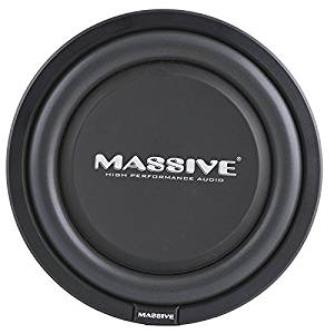 Massive Audio UFO12, 12 Inch Shallow Subwoofer - High Powered 600 Watt Shallow Mount Subwoofer, 3 inch Voice Coil and Dual 4 Ohm. Thinnest Car Subwoofer with a Clean Deep Bass Sound! Sold Individually