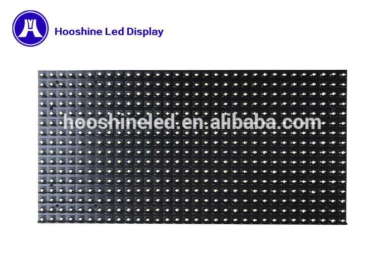 stable work p10 dip546 white color led modul running text