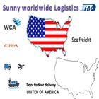 air sea cargo freight ems express door to door shipping service from china delivery to Amazon/FBA/Worldwide