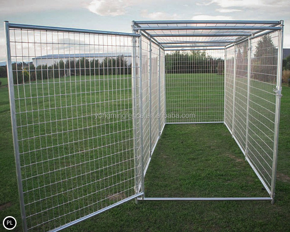 Large Dog Kennel Outdoor Fence View Portable Dog Fence
