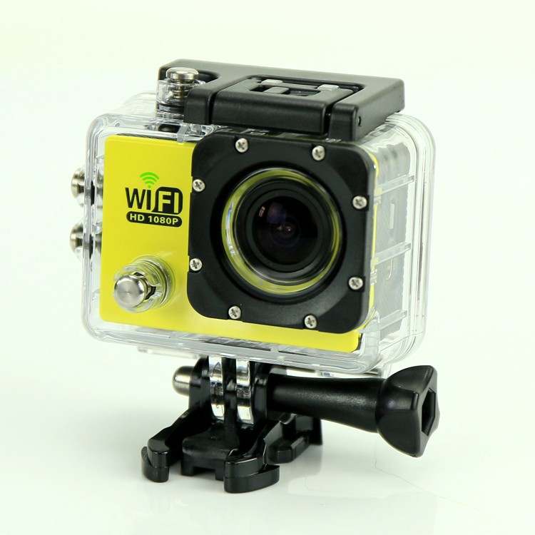 "SJ6000 WIFI Action Camera 12MP Full HD 1080P 30FPS 2.0""LCD Diving 30M"