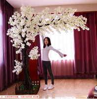white wedding trees white artificial cherry blossom tree china wholesale
