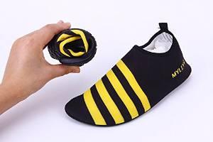 CAMTOA Unisex Barefoot Aqua Shoes,Flexible Water Shoes/Swim Shoes/Surf Shoes - Summer Beach Shoes for Beach Swim Surf Yoga Exercise