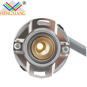 Hengxiang hollow encoder KN40 Optional Output Tilt Sensor Rotary Incremental Encoder ultra- thin 20mm