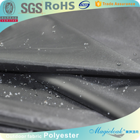 190t outdoor car cover taffeta fabric with silver coating/60''width/by the yard