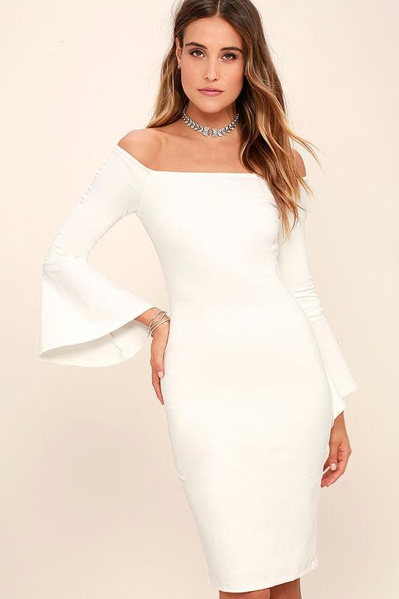 quite nice 465e6 a8625 2016 Winter Weg Von Der Schulter Weißes Kleid Für Frauen - Buy Weiße  Kleider Für Frauen,Winter Kleider Für Frauen 2016,Winter Kleider Frauen  Product ...