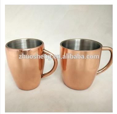 Cheap Moscow Mule cups copper mug copper water bottle design gift set