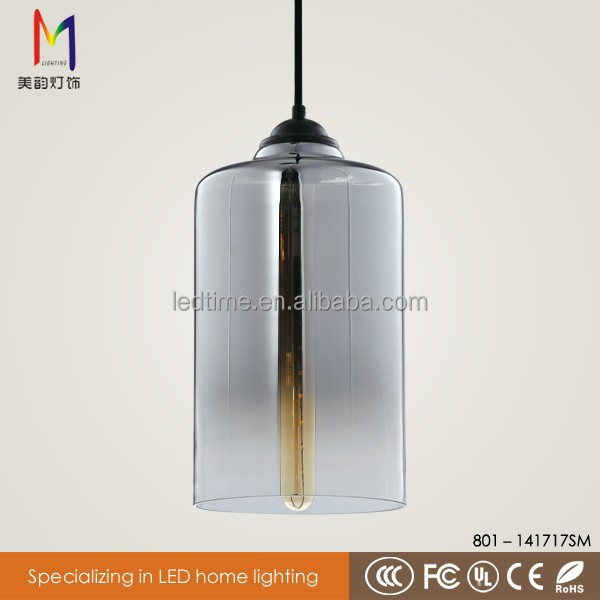 Hand painted glass lamp shades chimney chandelier edison pendant lamp with CE ROHS