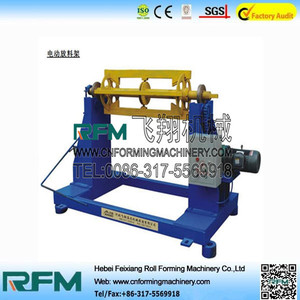 new type iron tile manual decoiler machines for sale