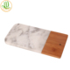 Hot sale Marble Cheese Cutting Board With Bamboo Round or Rectangle Shape