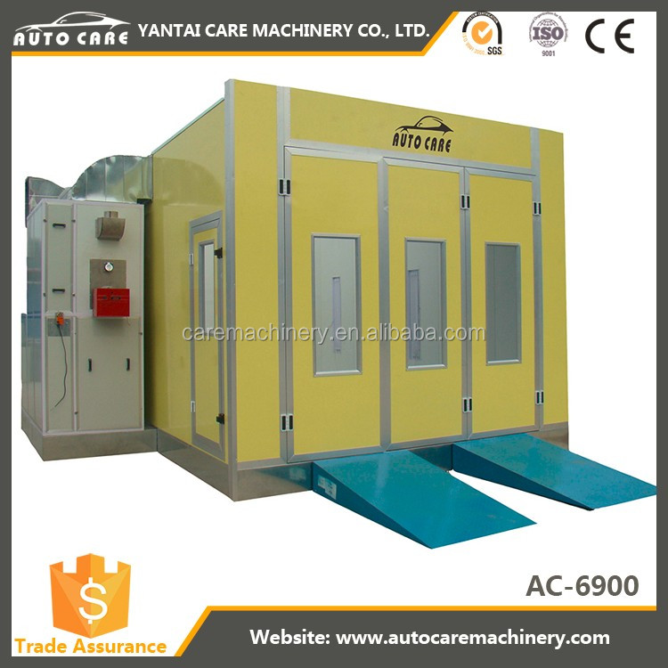 2017 Autocare Pieno Downdraft Body Paint Shop Booth per la vendita/Usato spray booth per la vendita