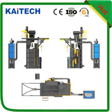 industrial shot blasting machinery equipment for rust blasting, can hang many pcs work pieces