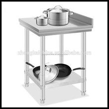 Heavy Duty bakery kitchen stainless steel work table / stainless steel work table for kitchen