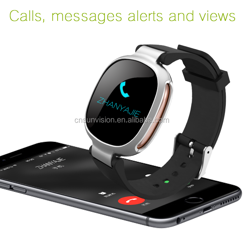 2016 Christmas gift smart watch android ios GPS SOS alarm remote monitor sim card mobile phone smart watch