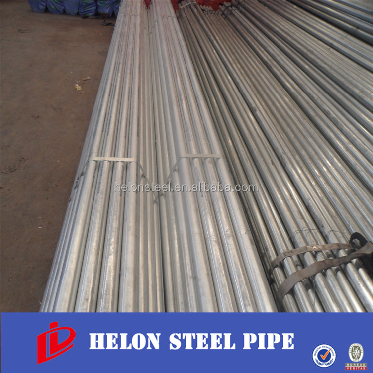 Zhaolida 20-323.9mm hot dip galvanized steel pipe size madie in Tianjin