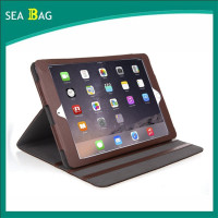 Genuine Leather Folio Case with Multiple Position Stand for Apple iPad Air 2