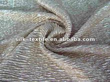 crinkled gilt polyester fabric in 2012