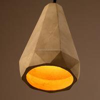 Cafe resturant vintage industrial handicrafts cement pendant light
