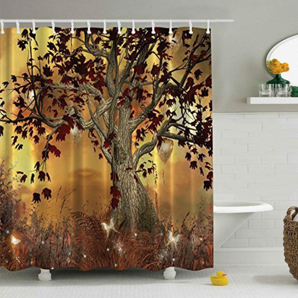 Cheap Shower Curtain With Tree Design Find Shower Curtain With Tree