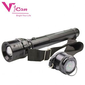 Security D Size Battery Operated Powerful LED D Cell Flashlight with Nylon Strap