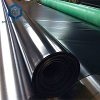 2mm hdpe geomembrane pond liner plastic roll sheet