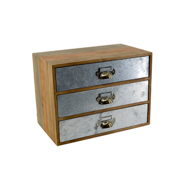 Wholesale Vintage Furniture Customized small organizer multi drawer cabinet wooden