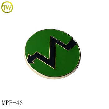 Custom metal enamel logo emblem badge fashion pin badges