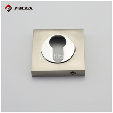 FILTA Square door hardware zinc door handle key escutcheon plate