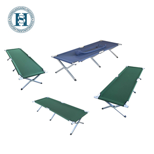aluminum alloy 2 folding camping bed