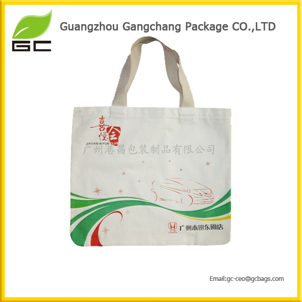 Widely used deep price promotional cotton canvas tote bag