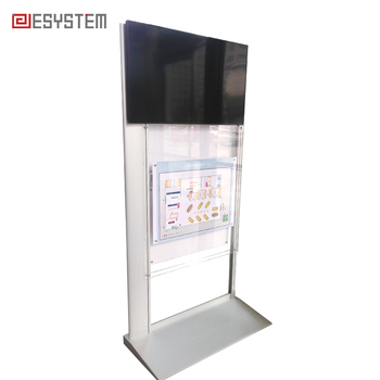 Ground Standing Ads Lcd Tv Advertising Display Stand For Exhibition Inspiration Exhibition Tv Display Stands