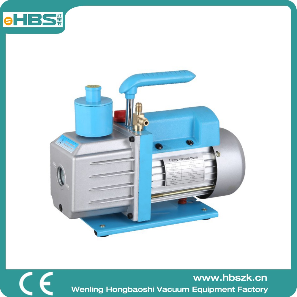 HBS one stage 2L RS-2 HAVC 5pa bell jar vacuum pump from China