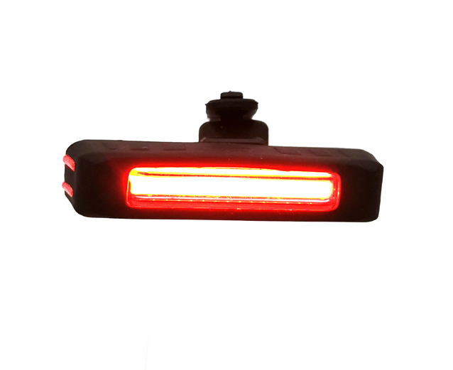 USB Rechargeable LED COB Bike Light Set 350 Lumens Bicycle Headlight Water Resistance LED  Back Rear Light