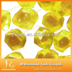 Yellow RVD industrial rough synthetic diamonds for sale