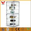 Top end wood glass trade show jewelry display cabinets cases