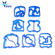 Dolphin Bear Car Dog Puzzle Shape Sandwich Mould Cutter Baking Cake Bread Toast Mould Maker Bento Cutter Kitchen tool