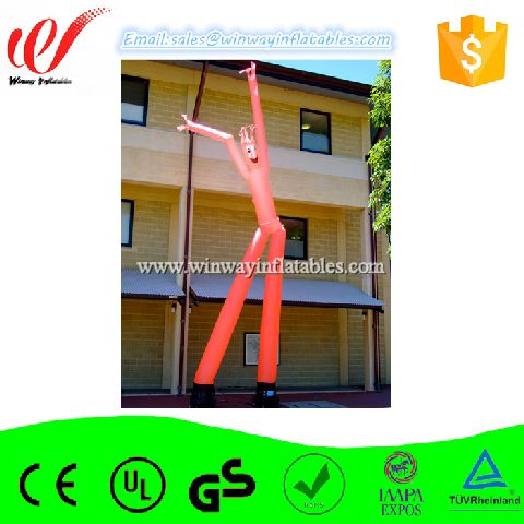 Red color inflatable sky dancer,inflatable waver Y8005