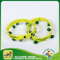 Silicone party gift irregular corporate gifts id bracelet