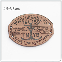 Wholesale Leather Labels With Free Design From Chinese Factory