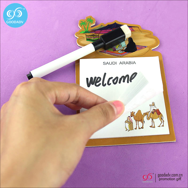with pen magnetic notepad cheap fridge magnet note pad
