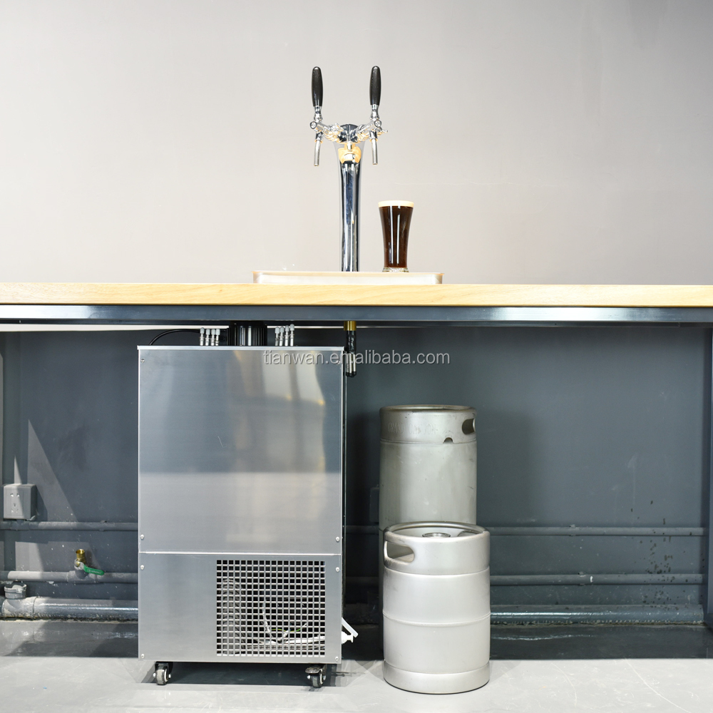 2016 draft beer tower/Beer Dispenser with Ice bank cooling for Bar party