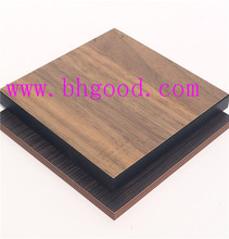 wood grain high pressure melamine laminate sheet/ formica board