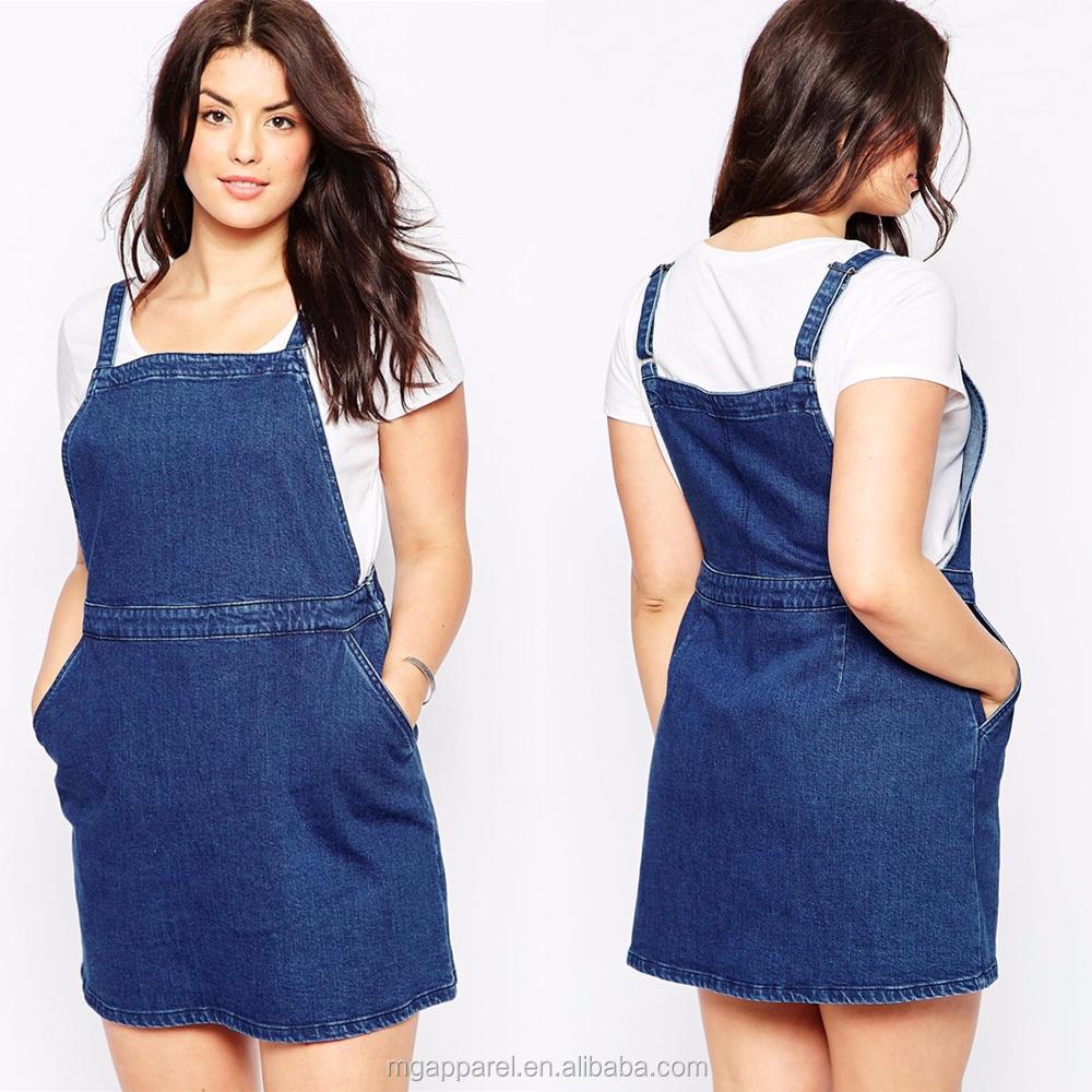 Wholesale Fat Women Dresses Plus Size Pinafore A-line Girl Denim Dress -  Buy Denim Dress,Plus Size Dress,Fat Women Dresses Product on Alibaba.com