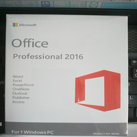 new and orginal brand Microsoft Office Pro 2016 Software