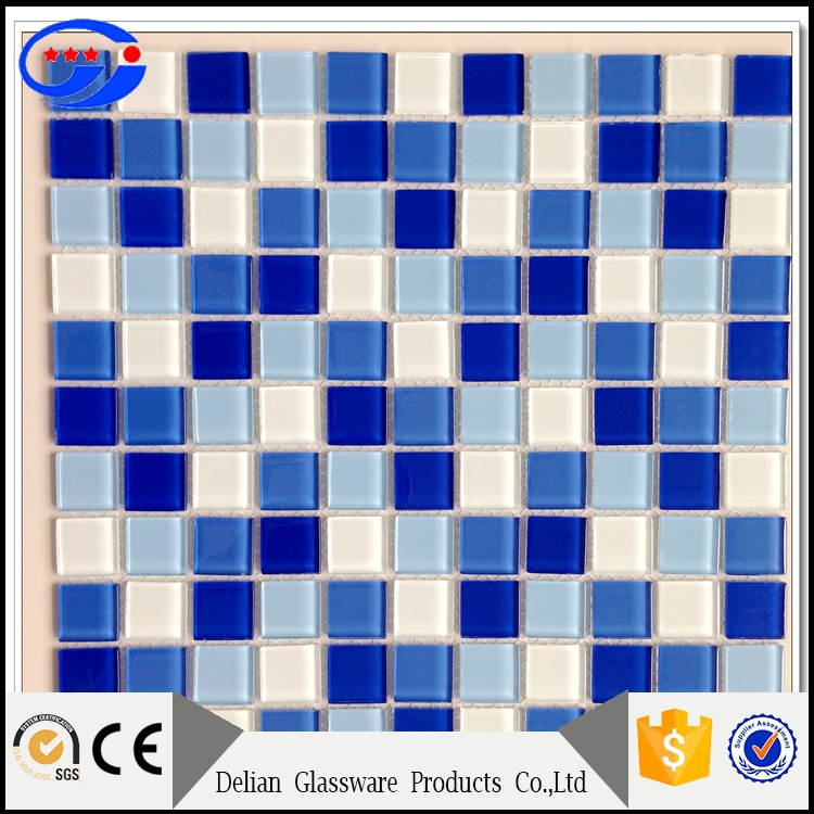 Multiple Color Family and Square Shape Swimming Pool Mosaic Tiles